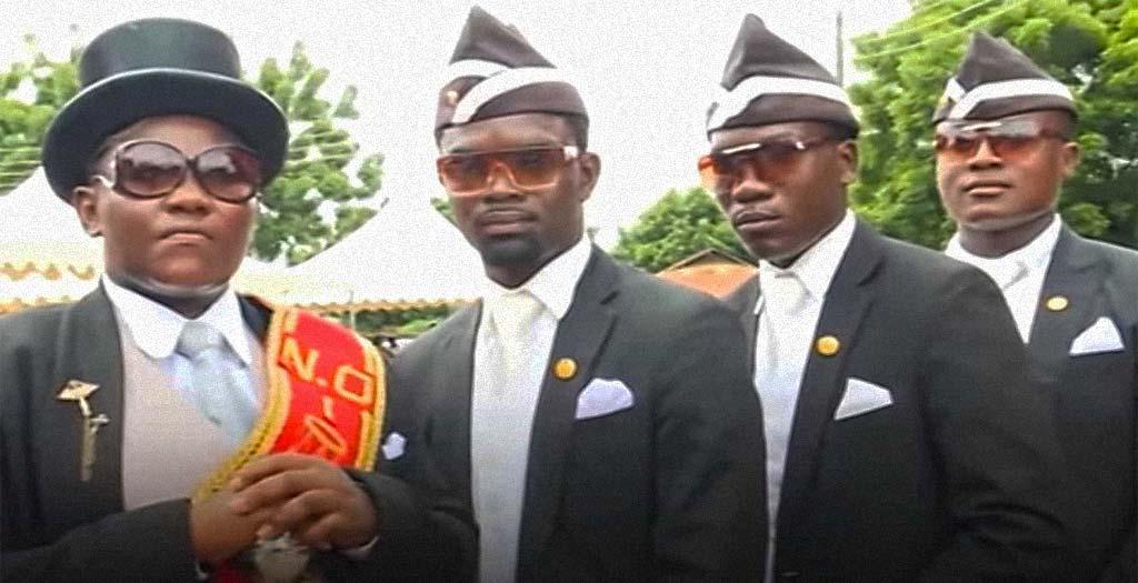 Vídeo de Ghana's dancing pallbearers, los mejores vídeos de los negros bailando con un ataúd 1