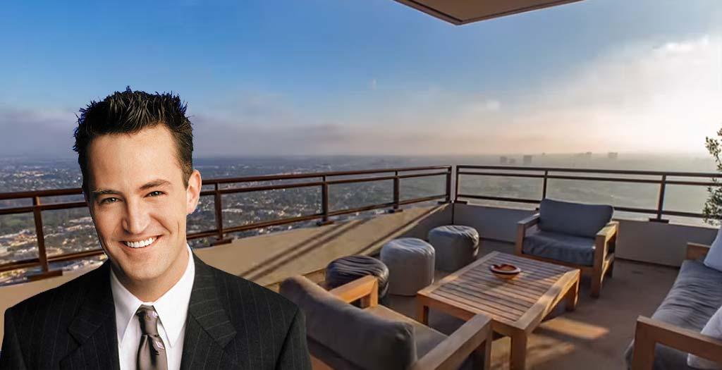 Descubre el lujoso ático que vende el actor de Friends, Matthew Perry 1