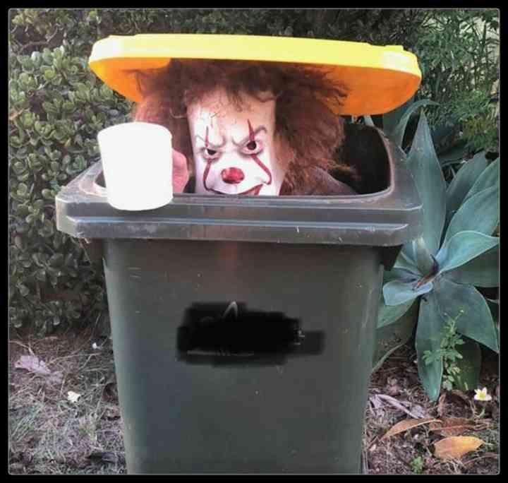 21 Personas que se disfrazan cada día para sacar la basura 9