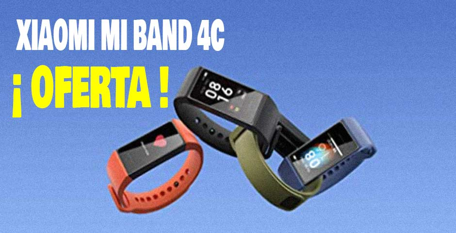 Llévate una Xiaomi Mi Smart Band 4C a un precio de risa 4