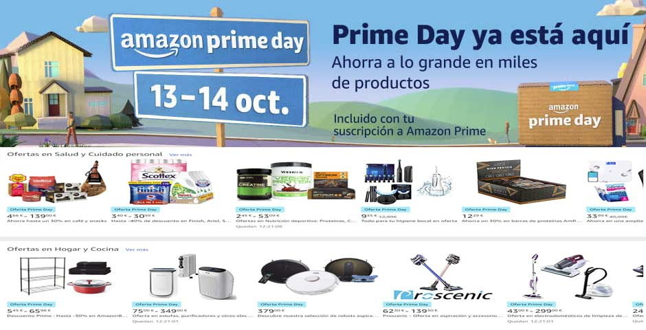 ¡ EL PRIME DAY HA LLEGADO ! 2