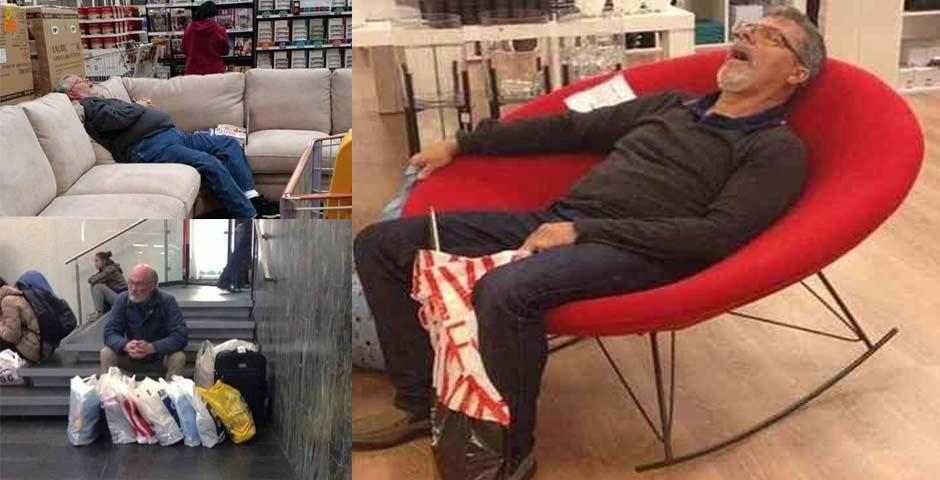 16 maridos que están hartos de ir de compras 6