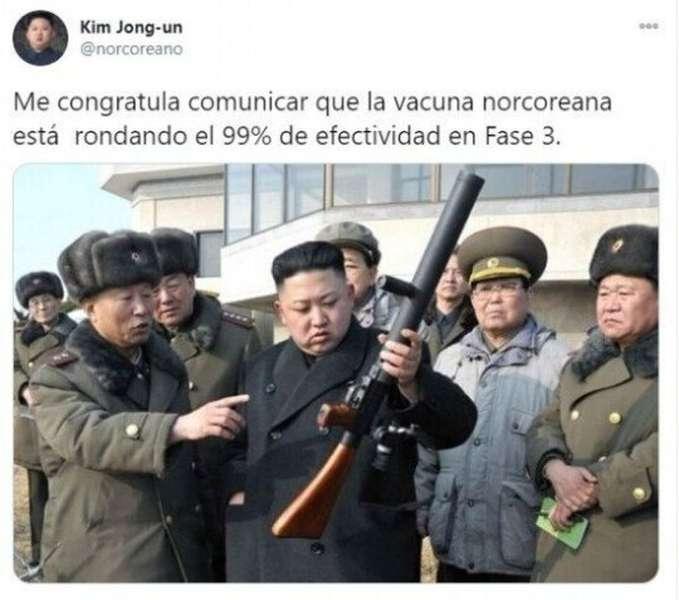 La vacuna norcoreana... 2