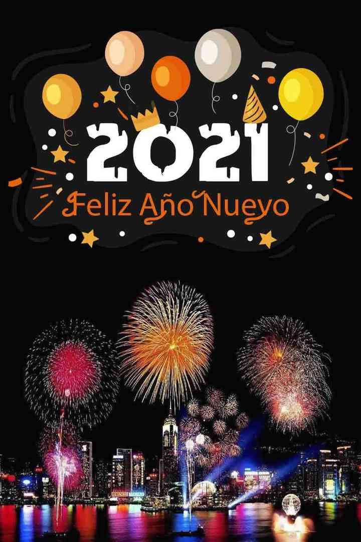 Felicitaciones de Navidad y Año Nuevo 2020 - 2021 10