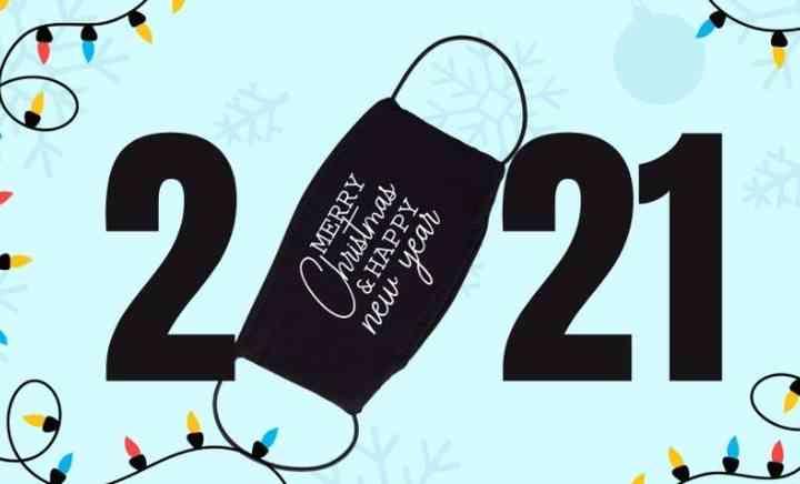 Felicitaciones de Navidad y Año Nuevo 2020 - 2021 8