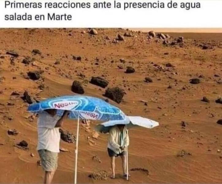 Marte, no sabes lo que se te viene encima... 1