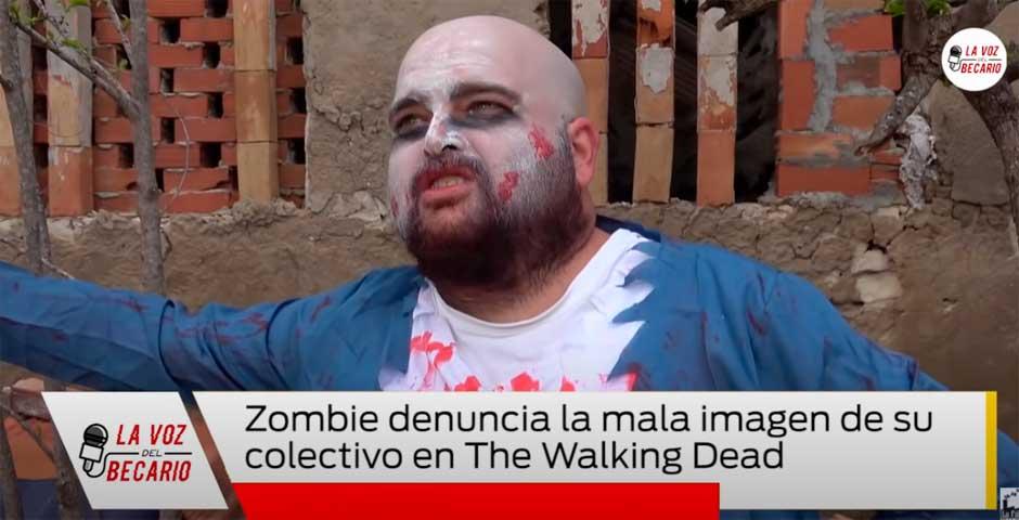Zombie denuncia la mala imagen de su colectivo en The Walking Dead 2