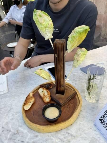 Restaurantes que presentan sus platos de forma original (galería de fotos) 11