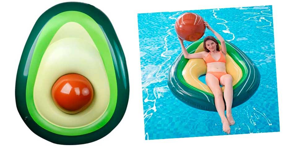 El flotador de moda para este verano, el flotador de Aguacate 5